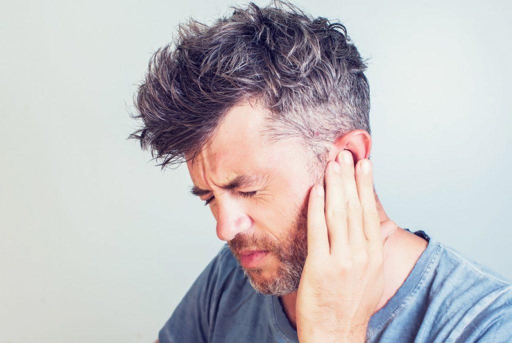 Aching in the ear